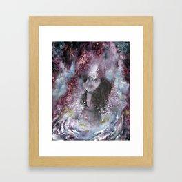 White Hole Framed Art Print