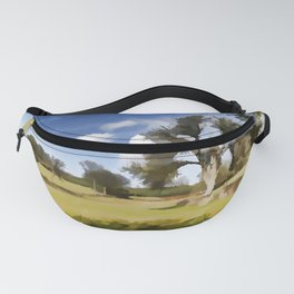Winter Clouds Fanny Pack