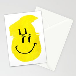 Smiley Glitch Stationery Cards