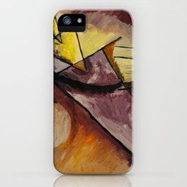 Abstract Forms iPhone Case