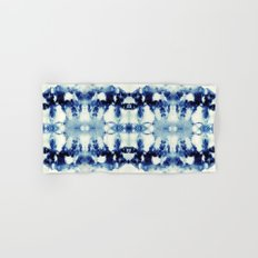 Tie Dye Blues Hand & Bath Towel