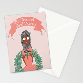 Sweet and Merry Reef Stationery Cards