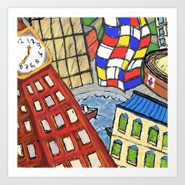 Baltimore Dreams Art Print