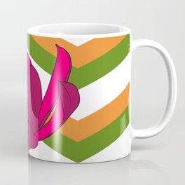 Chevron & Flower #1 Coffee Mug