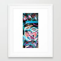 dave matthews Framed Art Prints featuring Crush // Dave Matthews by l.w.