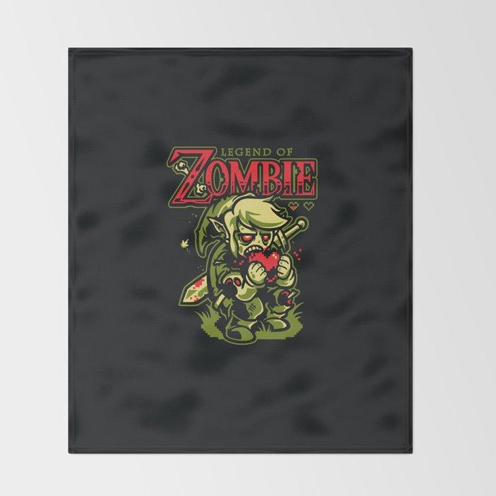Legend of Zombie Throw Blanket