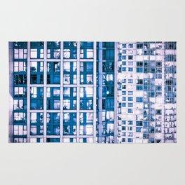 Urban Sprawl Vancouver Grid Rug