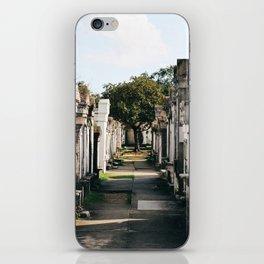 Lafayette Cemetery #1 iPhone Skin