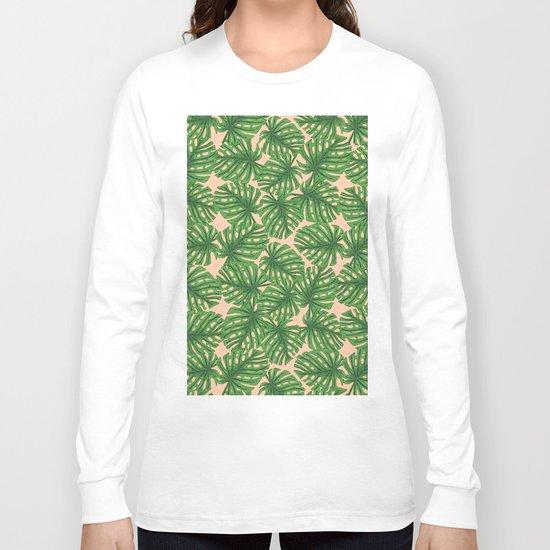 Monstera Theme 2 Long Sleeve T-shirt