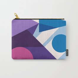 Abstract modern geometric background. Composition 10 Carry-All Pouch