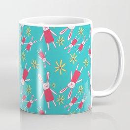 Bunnies 'n' Daisies Coffee Mug