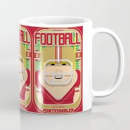 American Football Red and Gold - Enzone Puntfumbler - Sven version Coffee Mug