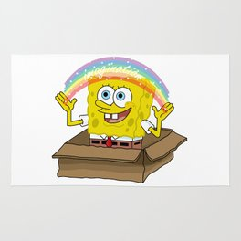spongebob squarepants imagination Rug