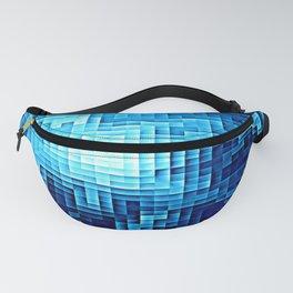 Nebula Pixels Blue Fanny Pack