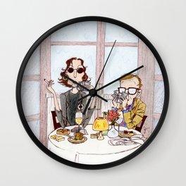 Manhattan Murder Mystery Wall Clock