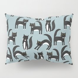 Black and White Cats Pillow Sham