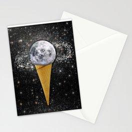 MOON ICE CREAM Stationery Cards