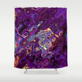 Dot to Dot Maze Craze Shower Curtain