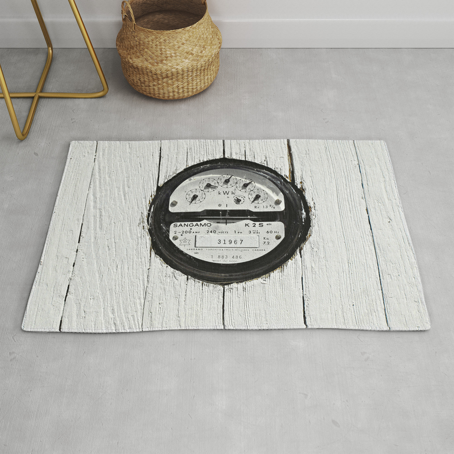 Made To Measure Rug By Ethna Society6