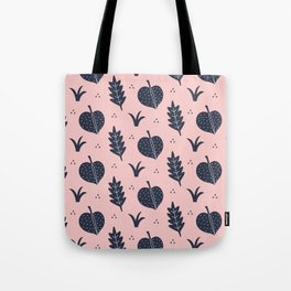 Botanical Pattern Tote Bag