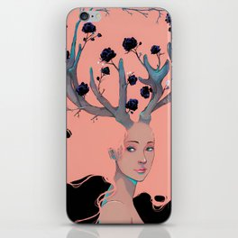 Lady Cornue. iPhone Skin