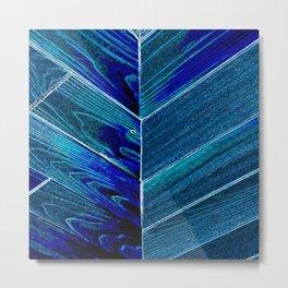 Bluegrain Metal Print
