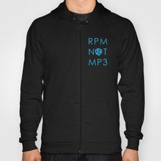 RPM NOT MP3 - Blue Hoody