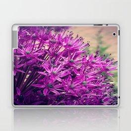 Purple Allium Laptop & iPad Skin
