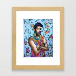 Alok Framed Art Print
