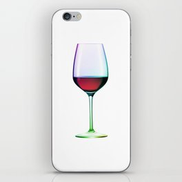 Cheers Red Wine iPhone Skin