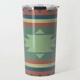 Southwest Geometric Tribal Indian Pattern Travel Mug