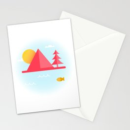 OCEAN TO SKY Stationery Cards