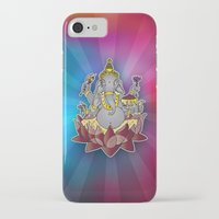ganesh iPhone & iPod Cases featuring Ganesh by Street But Elegant