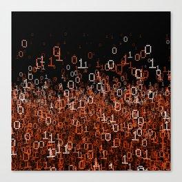 Binary Cloud II Canvas Print