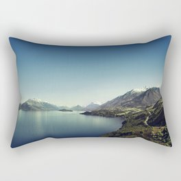 On my way to Glenorchy (Things happened to me) Rectangular Pillow