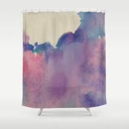 purple sky Shower Curtain