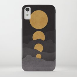 Rise of the golden moon iPhone Case
