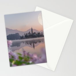 Lilac Nights Stationery Cards