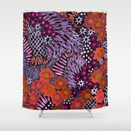 Grape Connection Shower Curtain