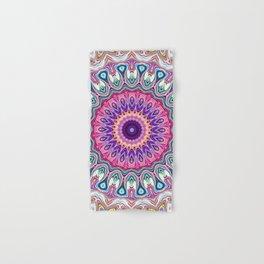 Colorful Ornate Mandala Hand & Bath Towel
