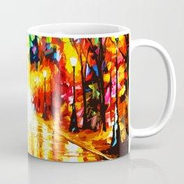 Tardis Light On Street Coffee Mug