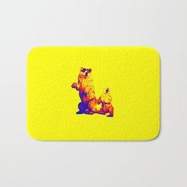 Ours Republique yellow Bath Mat
