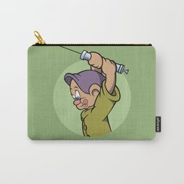 Pop Art Mashup: Snow White - Crazy Dopey Carry-All Pouch