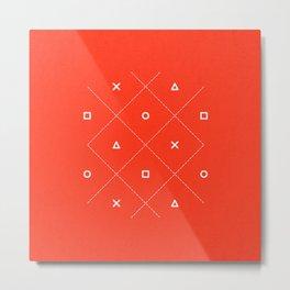 Geometry is Fun Metal Print