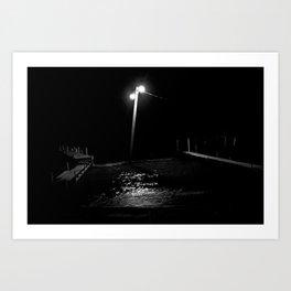 Atitlán nocturno. Art Print