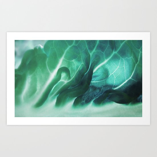 Aqua Plant (Art Of Food) Art Print