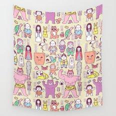 Mukashi-Banashi / Japanese Folk Tales Wall Tapestry