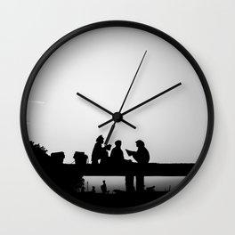 Lombok talks Wall Clock