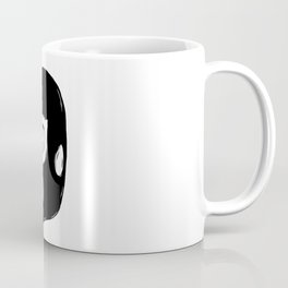Black Luchador Coffee Mug