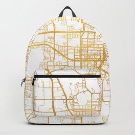 ORLANDO FLORIDA CITY STREET MAP ART Backpack